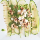 Recept Courgette Carpaccio